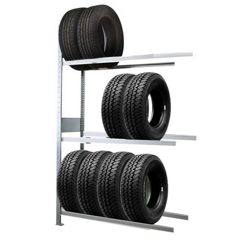 Гаражные стеллажи для колес и шин